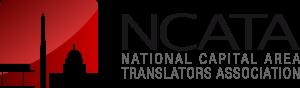 NCATA red long logo